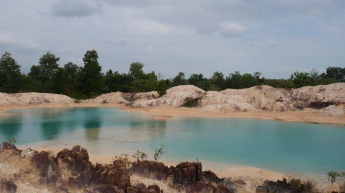 Lokasi Air Purou di Dusun 2
