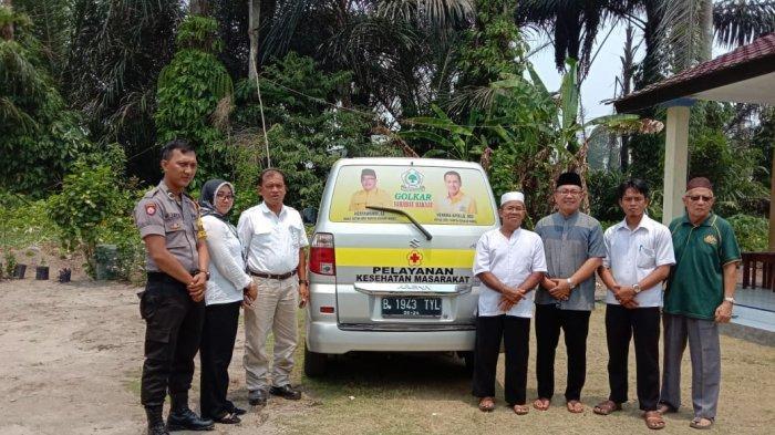 Baru Sebulan Menjabat, Anggota DPRD Bangka Belitung Ini Berikan Mobil Layanan Kesehatan Masyarakat