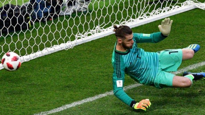 Repleks Kiper Spanyol David De Gea Terburuk pada Piala Dunia 2018