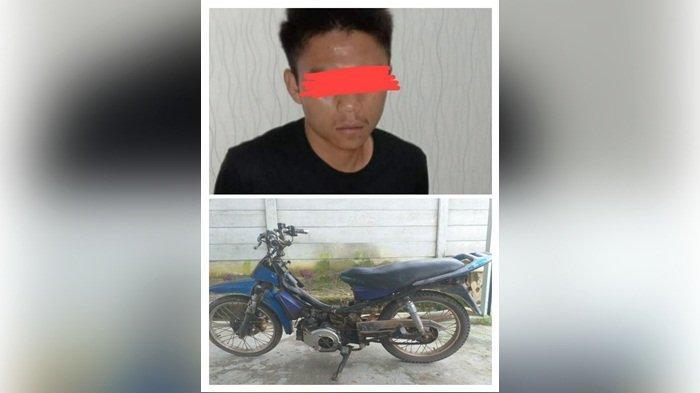 Usai Mencuri Motor, David Bersembunyi di Hutan Desa Simpang Yul