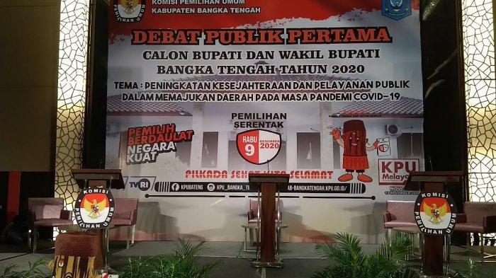 LIVE STREAMING Facebook Bangka Pos - Debat Pilkada Bangka Tengah Patuhi Protokol Kesehatan