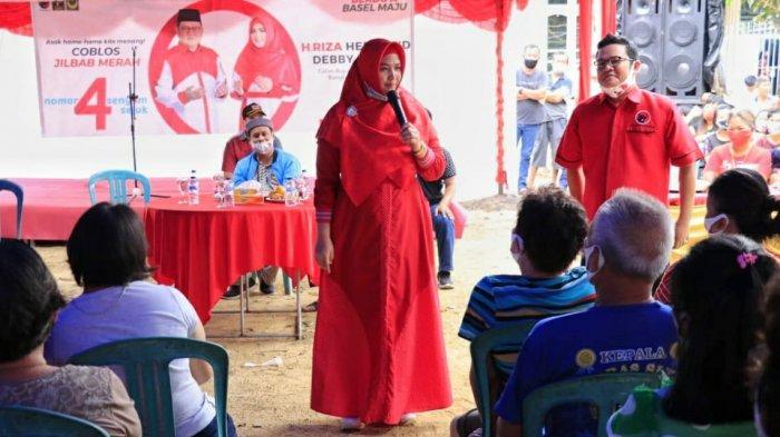 H Riza-Debby Pastikan Realisasi Program Tas dan Seragam SD-SMP Gratis Akan Merata
