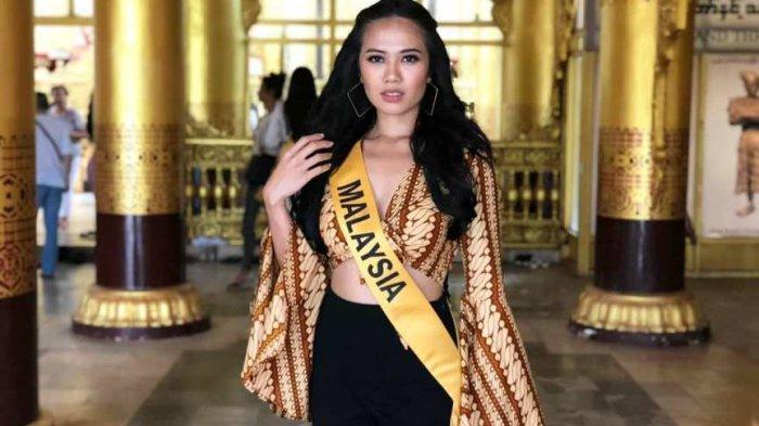 Batik Parang yang Sakral dan Tertua di Indonesia Diklaim Miss Grand Internasional Malaysia 2017