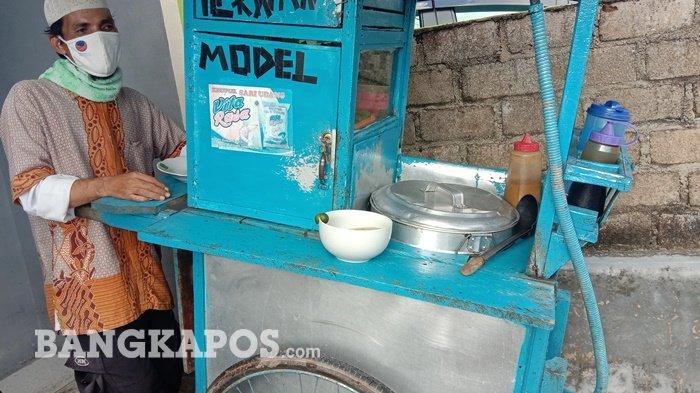 Kisah Dedi si Penjual Tekwan dan Model, 17 Tahun Dorong Gerobak, Pernah Ditodong Orang Tak Dikenal