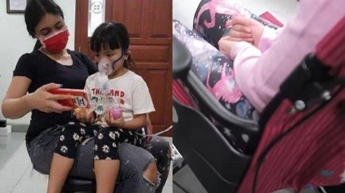 3 Tahun Putri Denada Berobat di Singapura, Kondisi Aisha Arum Memilukan, Kini Pakai Kursi Roda