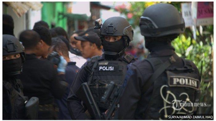 Terduga Teroris Klaten yang Diamankan Densus 88 Berpendidikan Tinggi, Warga : Khotbahnya Biasa Saja