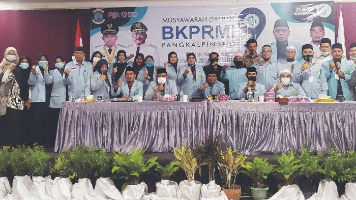Fajar Agustiawan Pimpin DPD BKPRMI Kota Pangkalpinang Masa Khidmat 2021-2025