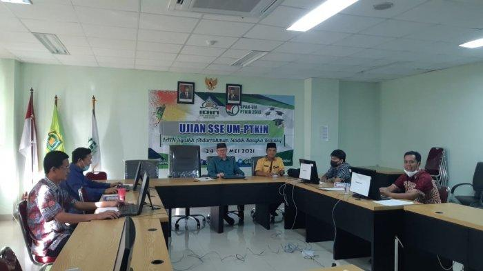Pelaksanaan Seleksi UM-PTKIN Berbasis SSE IAIN SAS Babel Berjalan Lancar