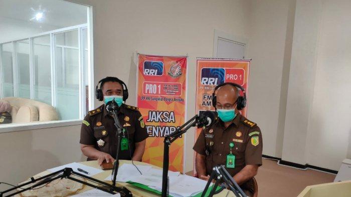 Suasana Dialog Interaktif Program Jaksa Menyapa Kejati Kepulauan Bangka Belitung
