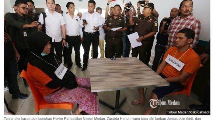Dialog Zuraida & Eksekutor saat Rencanakan Pembunuhan Jamaluddin, Janji Menikah hingga Umrah Bersama