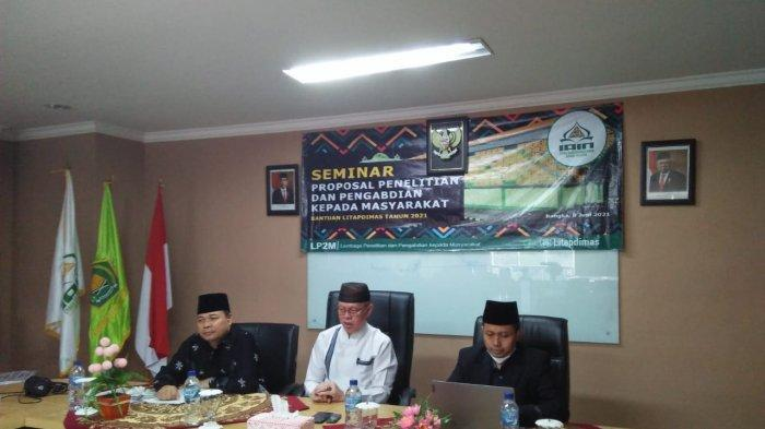 LP2M IAIN SAS Bangka Belitung Gelar Seminar Proposal Penelitian Litapdimas Berbasis SBK