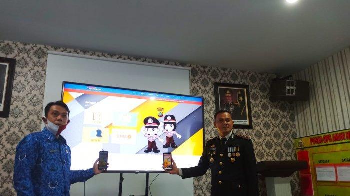 Polres Bangka Selatan Luncurkan Aplikasi Merdeka 75 untuk Kemudahan Pelayanan Masyarakat