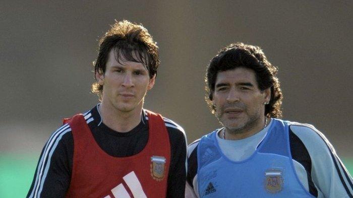 Keyakinan Maradona Bahwa Messi Bakal ke Indonesia