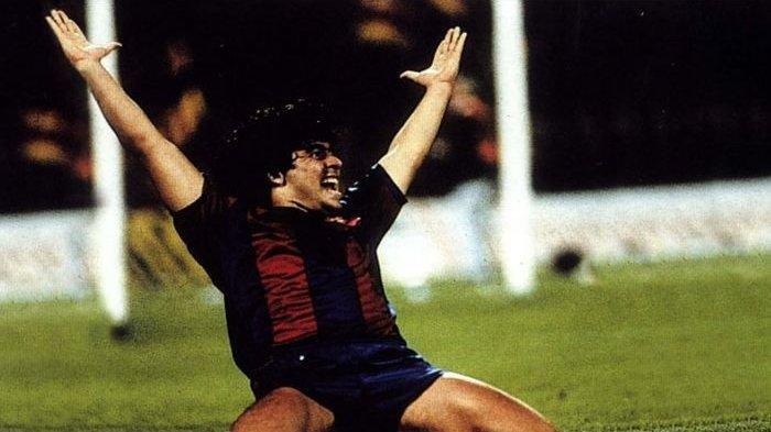 Jadi Pemain Termahal di Dunia, Cerita Diego Maradona Cuma Dua Musim di Barcelona