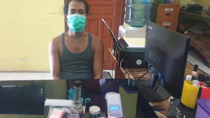 Polisi Bongkar Peredaran Narkoba di Rumah Kosong Kawasan Petak 15 Muntok