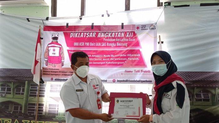 UKK KSR PMI Unit IAIN SAS Bangka Belitung Adakan Kegiatan DIKLATSAR