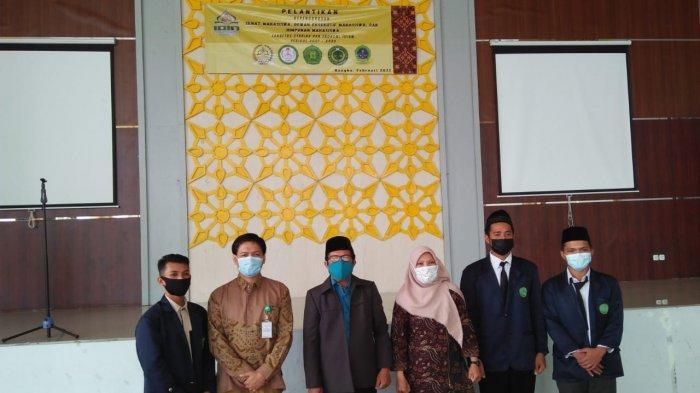 Dekan Lantik Sema, DEMA dan Himpunan Mahasiswa Fakultas Syariah dan Ekonomi Islam Baru