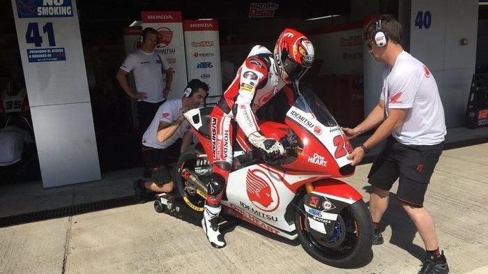 LIVE STREAMING MotoGP Prancis, Jangan Lewatkan Penampilan Dimas Ekky di Moto2, Start di Posisi 28