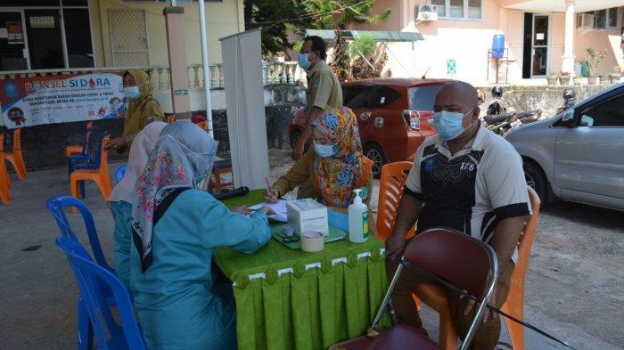 Dinkes Bangka Gelar Vaksinasi Kelompok Dua, Khusus 1260 Pekerja Pelayanan Publik