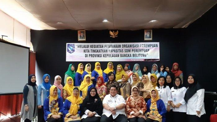 Tingkatkan Kualitas Perempuan DP3ACSKB Gelar Pembinaan Organisasi Perempuan