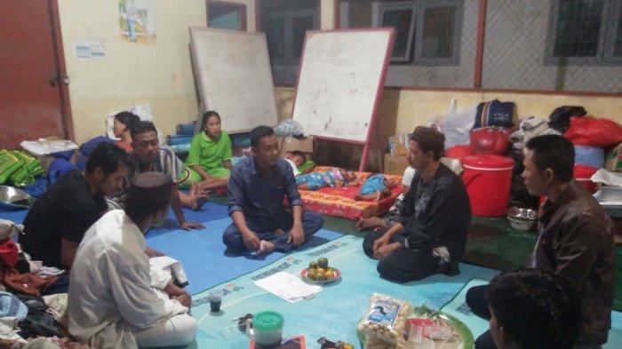 Tiap Malam Tim Psikososial Hibur Korban Kebakaran, Usul Bantuan Pembangunan Rumah