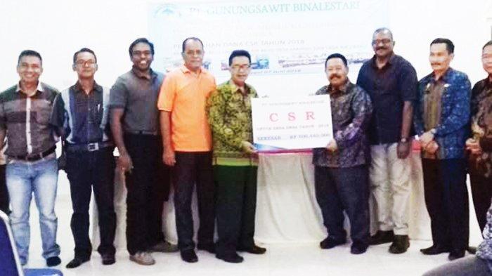 PT GSBL Konsisten dan Berkomitmen Salurkan Dana CSR
