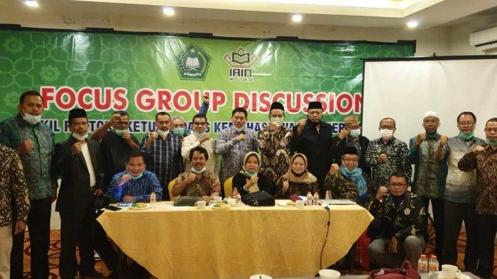 Focus Group Discussion Wakil Rektor/Wakil Ketua bidang Kemahasiswaan dan Kerjasama PTKIN
