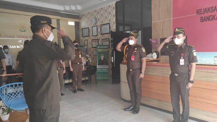 Kunjungan Kajati Bangka Belitung disambut langsung oleh jajaran Kejari Bangka Barat