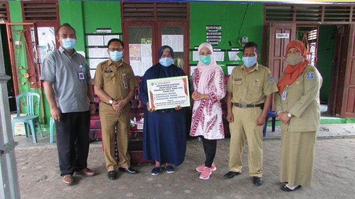 IKM Terasi Desa Tanjung Niur Terima Bantuan Mesin Peralatan Produksi Tepat Guna