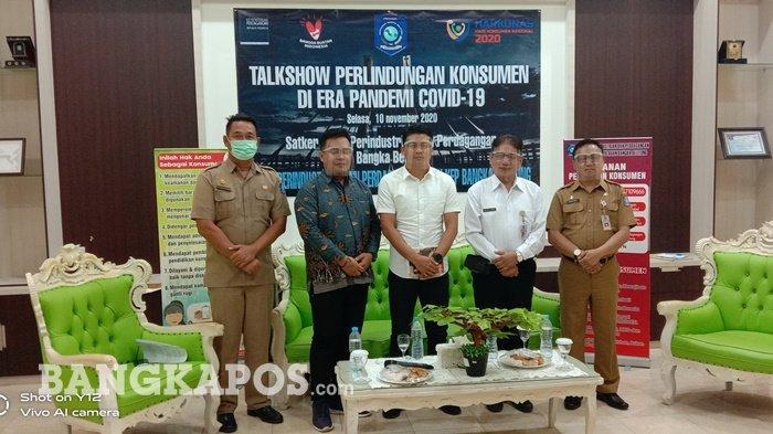 Disperindag Bangka Belitung Gelar Talksow Perlidungan Konsumen, Peringati Harkonas