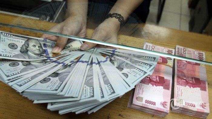 Hari Ini Nilai Tukar Rupiah Terhadap Dolar AS kembali Melemah di Pasar Spot Rp 14.125 per dolar AS