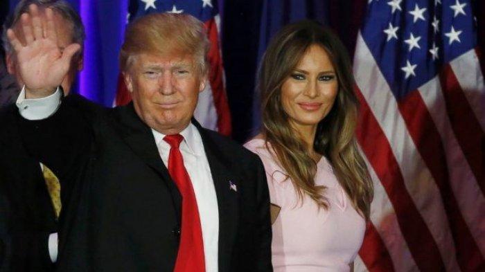 Terbongkar, Trump dan Melania di Gedung Putih Tidur Terpisah, Istri Dapat Warisan Rp 700 miliar