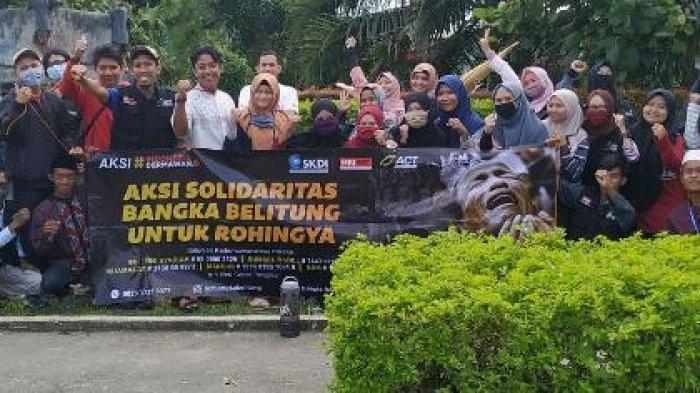 MRI Galang Donasi Lakukan Aksi Solidariras Babel Peduli Rohingya, Terkumpul Sebesar Rp 23,4 Juta
