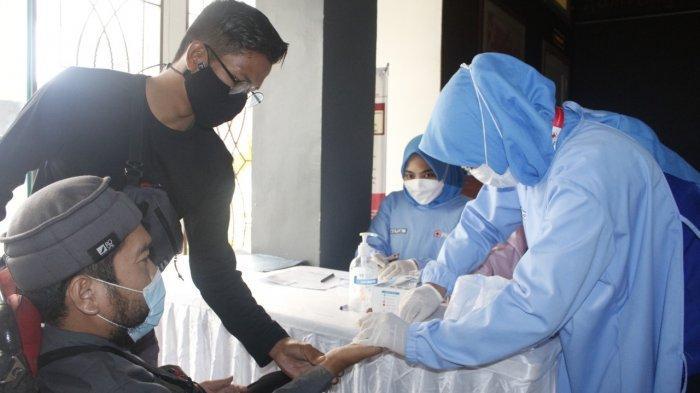 Penyandang Disabilitas di Bangka Belitung Donor Darah di Hari Pekerjaan Sosial Sedunia