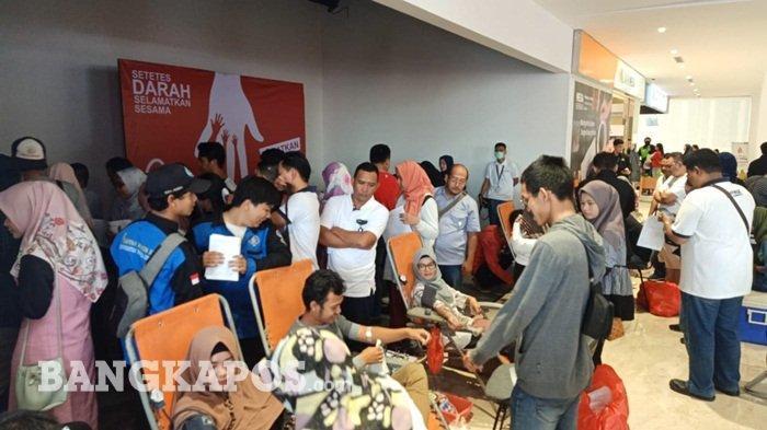 PT RBT Gelar Donor Darah di Transmart Bekerjasama dengan PMI