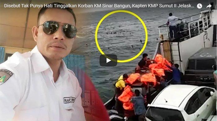 Kapten Kapal Ini Akhirnya Ungkap Alasan Tinggalkan Penumpang Tenggelam di Danau Toba