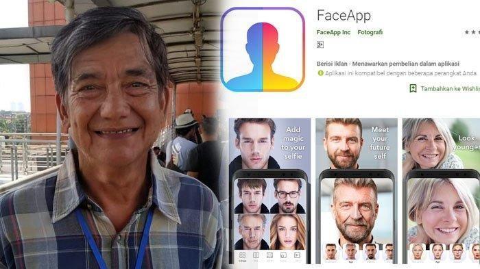 Cara Mudah Download Aplikasi Wajah Tua FaceApp & Membuat Age Challenge yang Hits di Instagram