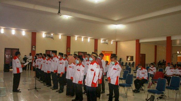 Musyawarah Kabupaten I serta pelantikan dan pengukuhan Dewan Pengurus Cabang (DPC) Asosiasi Badan Permusyawaratan Desa Nasional (ABPEDNAS) Kabupaten Bangka Barat periode 2020-2025