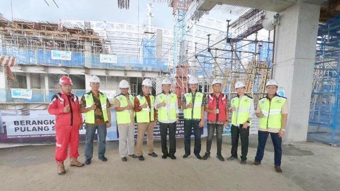 Komisi VI DPR RI Kunjungi Area Pembangunan Perluasan Terminal Bandara Depati Amir Pangkalpinang