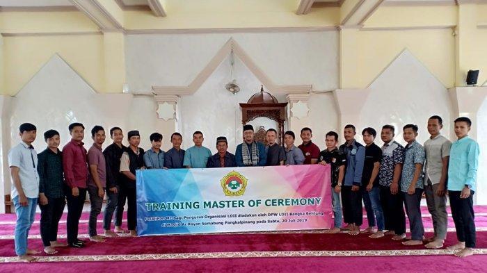DPW LDII Babel Gelar Training Master of Ceremony, Cetak Profesi MC Profesional