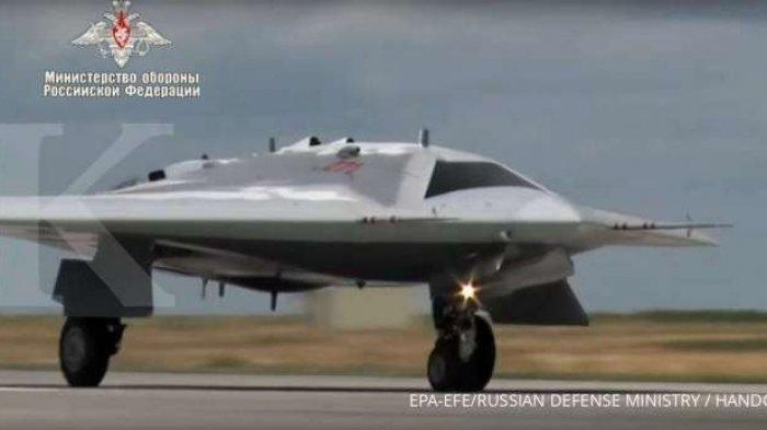 Drone Tempur Okhotnik-B Rusia, Sukses Uji Coba Jatuhkan Bom 500 Kg, Siap Dikerahkan ke Medan Perang