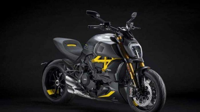 Tampil Sangar, Ducati Rilis Diavel Black and Steel