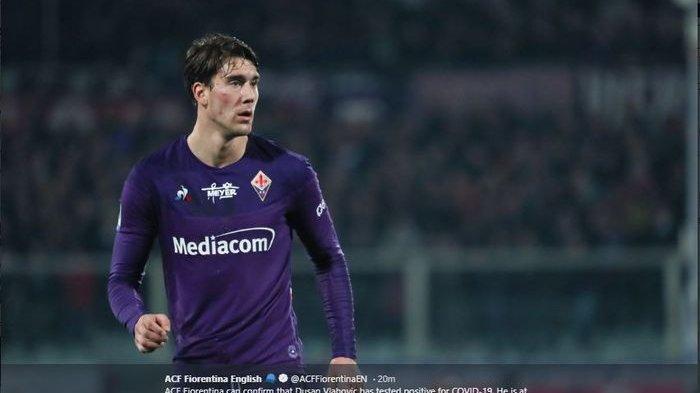 Juventus, Inter Milan Hingga Liverpool Rebutan Penyerang Fiorentina Dusan Vlahovic