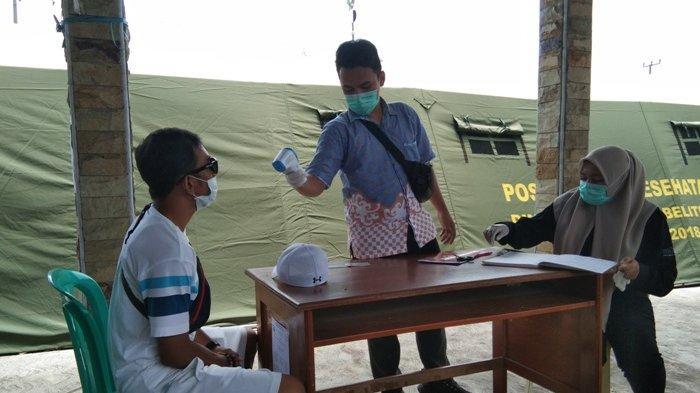 Dua Wisatawan asal Surabaya Diciduk Tim Gugus Tugas Covid-19 saat Berada di Pantai Tanjung Tinggi