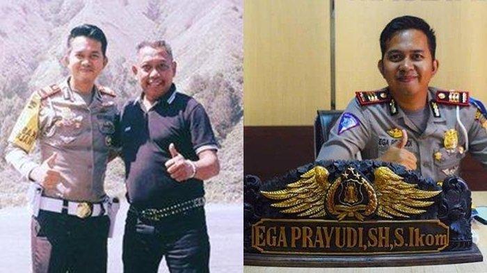 Ega Prayudi bersama Tukul Arwana