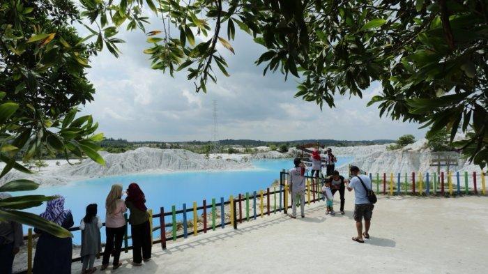 Eksotisnya Danau Kaolin, Bagaikan Sekilas Salju