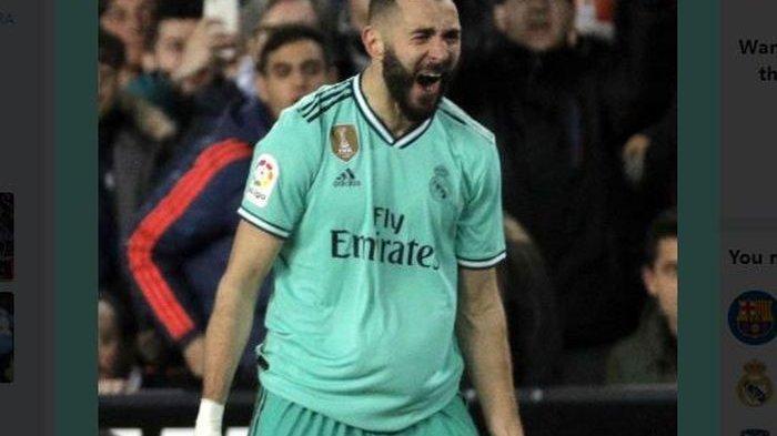 Musim Ini, Karim Benzema Janjikan Trofi Liga Spanyol untuk Real Madrid