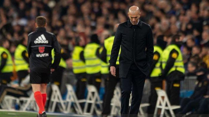 Zidane Marah Lagi Saat Kemenangan Real Madrid Dikaitkan dengan Wasit