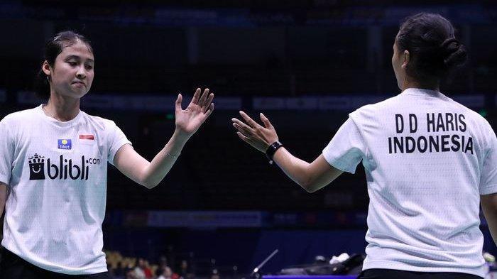 Indonesia Masters 2019, Ganda Putri Indonesia Della/Rizki Rebut Tiket Final