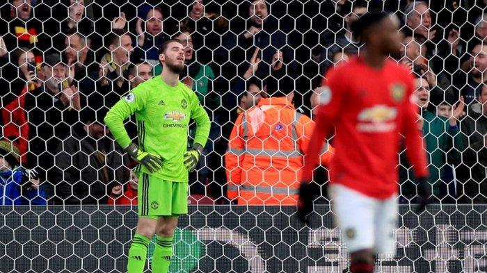 Man United Vs Man City, David de Gea Ketemu Monster Menyeramkan